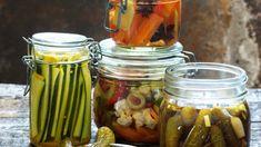 Nechte se zlákat nezvyklými recepty na nakládanou zeleninu! Gordon Setter, Creative Food, Kimchi, Chutney, Preserves, Pickles, Cucumber, Menu, Homemade