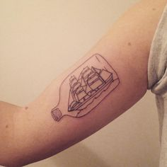 Little (big) ship in a bottle for Christine ⛵️ thank youuu