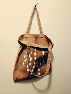 Deer Tote Bag by ThreadbareSupplyCo on Etsy, $30.00