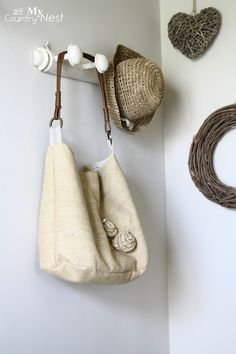My country nest: Shabby style bag