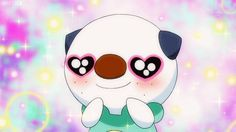 Oshawott being adorable
