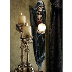 Design Toscano The Grim Reaper Illuminated Wall Decor & Reviews | Wayfair