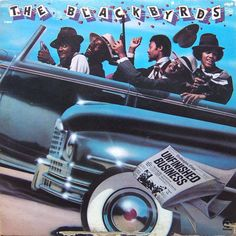 The Blackbyrds - Unfinished Business on LP