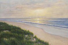 Seaside by Diane Romanello - Canvas Print at DianeRomanello.com