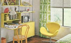 1970s home decor | Vintage Home Decorating: 1970s Kid's Rooms | Antique Alter Ego