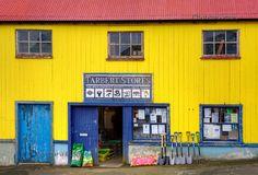 Tarbert Stores in Tarbert, Isle of Harris, Western Isles, Scotland