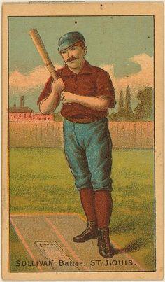 1887 Buchner Gold Coin 104 Dan Sullivan St. Louis Browns Baseball Card