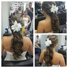 #hair #cabello #estilista #hairdresser #peluquero #hairstylist #beauty #upDos #peinado #recogido #wave #ondas #stunning #bride #boda #civil #wedding #novia #panama #pty