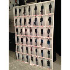 Canali AW14 fashion show #backstage #looks
