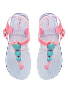 Childrens Shoes Boys Shoes Girls Shoes | Diamante Jelly T-Bar Sandal | Seed Heritage