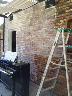 20 Ideas For Exterior Brick Limewash Front Doors Exterior Paint Colors, House Paint Exterior, Exterior House Colors, White Wash Brick Exterior, Exterior Trim, Stained Brick, Brick Images, Painted Brick Exteriors, Brick Interior