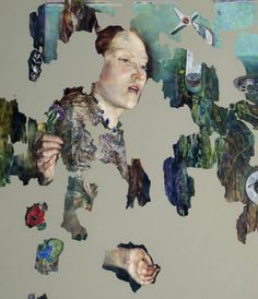 """Saatchi Online Artist: Agnes Toth; Oil, Painting """"Remedy"""""""