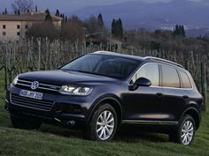 A hybrid version of the Touareg is available for the more environmentally-minded consumer.