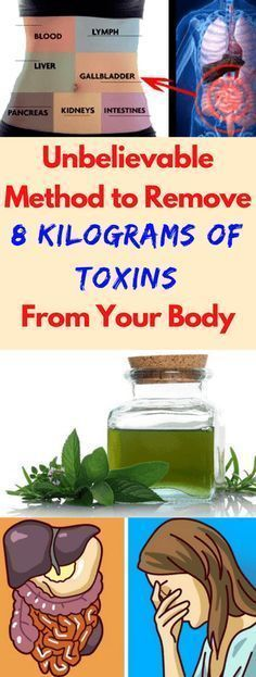Unbelievable Method to Remove 8 Kilograms of Toxins From Your Body!