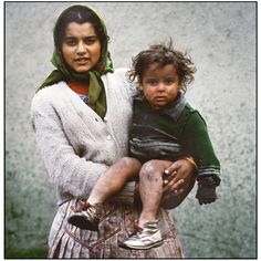 #Gypsie bulgarian #gypsy mother and child via SARA HATAMI