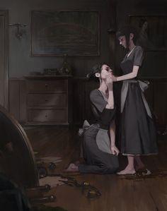 maids, Park Pyeongjun on ArtStation at https://www.artstation.com/artwork/W6JEG?utm_campaign=digest&utm_medium=email&utm_source=email_digest_mailer