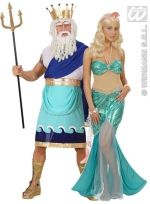 Poseidon and his Mermaid Costume