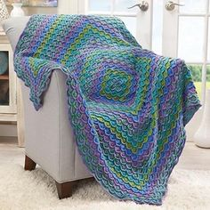 Afghan kits make perfect gifts for Yarn Lovers. It is complete with everything they need to finish a project.