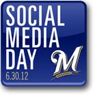 Thanks for following us! Tomorrow, get a special deal on #Brewers tix to celebrate #SMDay!