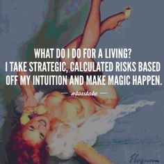 Intuition has never failed me! When you don't listen, speak up and out; failures happen!