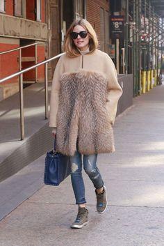 Olivia Palermo in New York City