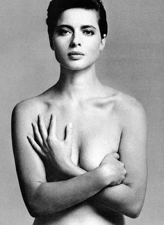 Isabella Rossellini by Richard Avedon for Vogue US, 1982