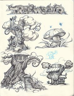 Pencil sketches on Behance