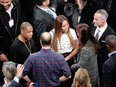 William and Kate join Beyoncé and Jay-Z courtside at Nets game #dailymail