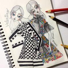 Valentino Paris, Valentino Garavani, Visual Diary, Fashion Shoes, Fashion Drawings, Pets, Sketching, Illustration, Pattern