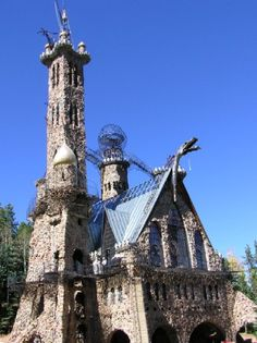 Bishop's Castle -- a unique experience in southern Colorado - the infamous, ranting Jim Bishop, is worthy the trip alone.
