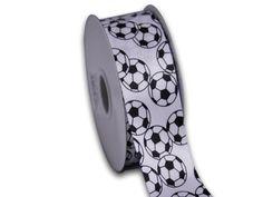 soccer satin sports ribbons