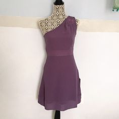 One shoulder dress Brand new! Zips up the side. Fits true to size Forever 21 Dresses