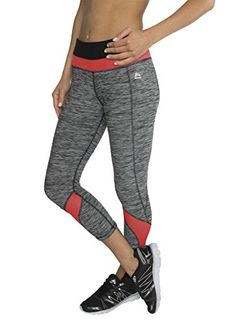 RBX Active Women's Striated Mesh Ventilated Capri Leggings >>> Details can be found by clicking on the image.  This link participates in Amazon Service LLC Associates Program, a program designed to let participant earn advertising fees by advertising and linking to Amazon.com.