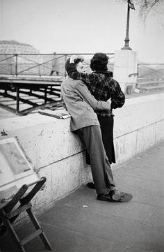 "greeneyes55: "" Paris 1960s Photo: Gisèle Freund """