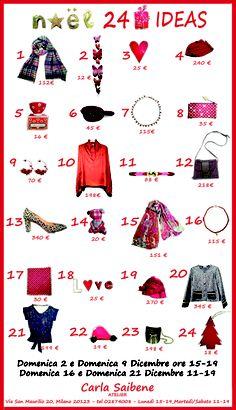 Carla Saibene Atelier - 24 Christmas ideas