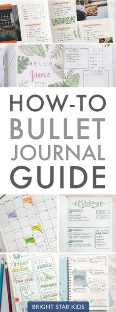 How-To Bullet Journal Guide - Bright Star Kids