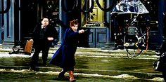 Behind the scenes of Fantastic Beasts!