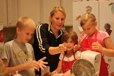 Start them young!! It will revolutionize their future! Tips and ideas for Cooking with kids.