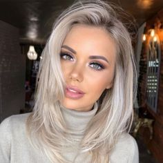 Latest Hairstyles, Straight Hairstyles, Braided Hairstyles, Medium Hair Styles, Short Hair Styles, Blonde Hair Styles Medium Length, Cool Blonde Hair, Blonde Straight Hair, Blonde Lob Hair