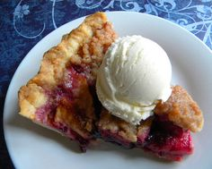 Apple Blueberry Pie--Made this tonight-OUTSTANDING!!