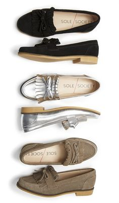 Timeless loafers with fringe & bow detailing by @solesociety //