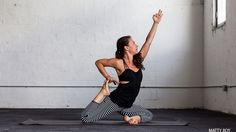 A Yoga Sequence for Deep Hip Opening. Find release through awareness and use of the hips. Try this sweet yoga sequence from Sonima and Dawn Feinberg to go inward and invite new spaciousness into the body and heart.