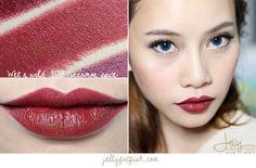 Lipstick, Wet n Wild, 917B Cinnamon Spice, Swatch, Mega Last Lip Color, Semi-Matte, Cream Finish, Cruelty-Free