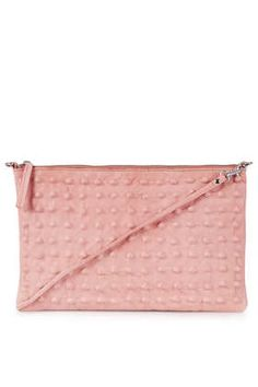 {pink studded clutch - inspired by Valentino's Rockstud Clutch} {topshop fall 2013}