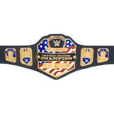 Wwe United States Championship, Real Leather Belt, Leather Belts, Wwe Belts, Wwe Tna, Combat Sport, Professional Wrestling, Wwe Wrestlers, Wwe Superstars