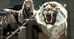 Walking Dead Season 7 Trailer Introduces King Ezekiel & Shiva -- Walking Dead Season 7 brings a touching tribute as it teases the looming death of a beloved character, more Negan and a few surprises in the first trailer. -- http://movieweb.com/walking-dead-season-7-trailer-king-ezekiel-shiva/