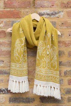 Ossian #HandmadeatKew #Textiles