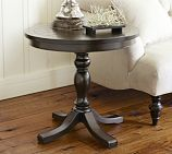 """Pottery Barn Hayden side table 26"""" diameter...perfect size."""