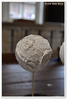 Krek Wak Wou: DIY: rustieke decoratie- en mosballen