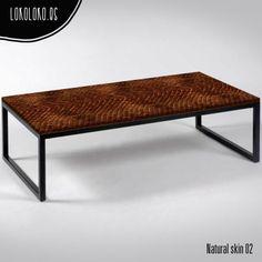 #ViniloDecorativo para #wrapping Natural Skin 02 Snake usado en una mesa / #DecorativeVinyl for #wrapping Natural Skin 02 Snake used in a table